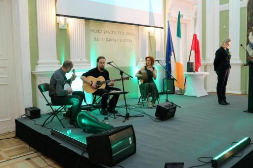 Występ w ambasadzie Irlandii w Warszawie